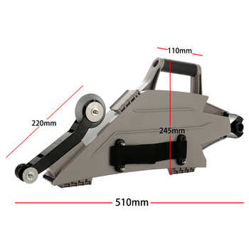 Drywall Plasterboard Gypsum Board Taping Tool with Quick Change Inside Corner Wheel Adjustable Straps Drywall Hand Tools