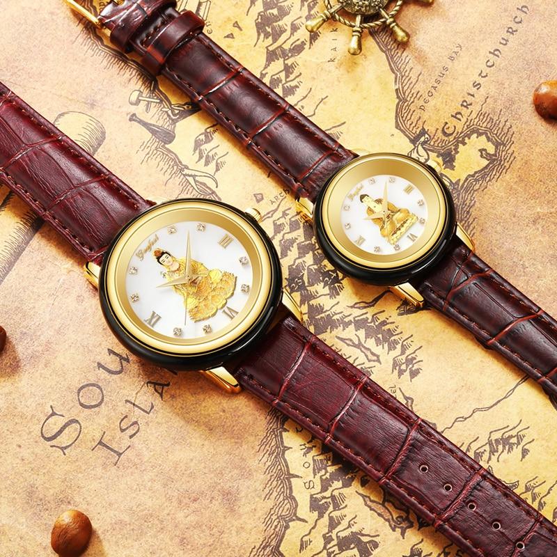 Buddhism Watch Jade Watch Manufacturer Direct Waterproof With Seiko Movement Operation Men's Watches Reloj Mujer Reloj Hombre