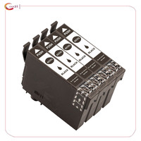 4 Black T603 603XL - Ink Cartridge Compatible For  Epson Expression Home XP-3100 XP-4100 XP-2100 XP-2105 XP-3105 XP-4105 Printer