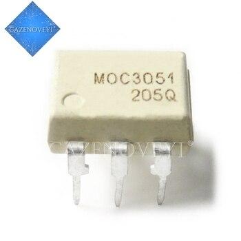 10pcs/lot MOC3051 MOC3052 MOC3061 MOC3062 MOC3063 MOC3081 MOC3082 MOC3083 MOC3033 MOC3031 DIP-6 New original In Stock - discount item  8% OFF Active Components