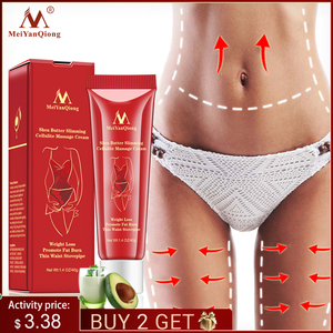 Lose Weight Slimming Cellulite Massage Cream Health Body Slimming Promote Fat Burn Thin Waist Stovepipe Body Care Cream Lift
