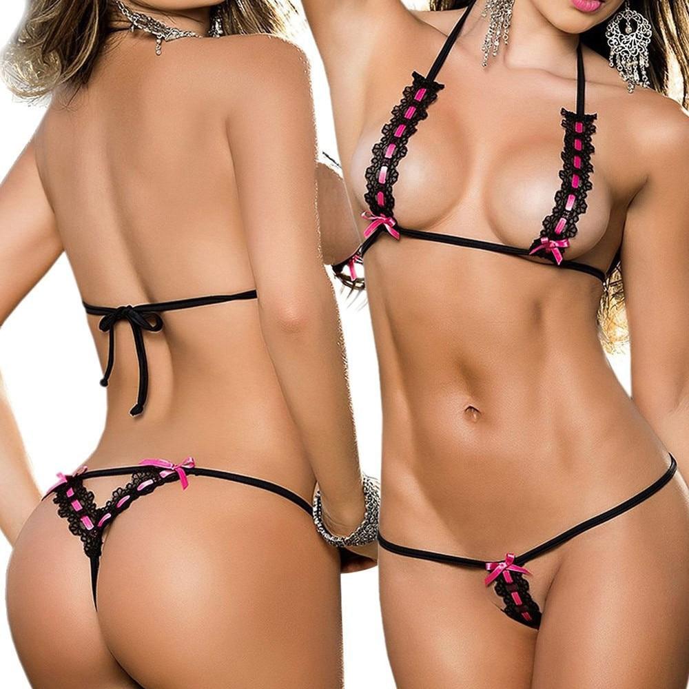 Swimsuit Sexy Bikinis Underwear Biquini Bathing Push-Up Three-Point Women Stretchable