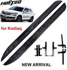 Image 4 - Running board side step nerf bar para Skoda Kodiaq 2017 2018 2019 2020, suministrado por la fábrica ISO9001, recomendado, precio de promoción