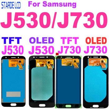 Amoled J730 LCD For Samsung Galaxy J7 Pro LCD 2017 J730 SM-J730F J730F LCD Screen Touch Screen Digitizer J5 Pro J530 J530F LCD 100% tested lcd for samsung galaxy j530 lcd j5 2017 display touch screen lcd digitizer assembly for samsung j530f j5 pro 2017
