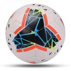 Image 4 - 2020 mais novo jogo bola de futebol tamanho padrão 5 bola de futebol material do plutônio alta qualidade esportes league formação bolas futbol