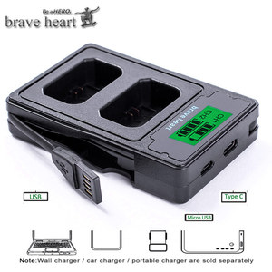 Image 4 - 4Pcs 2000mAh NP FW50 NP FW50 Batterie + LED USB Dual Ladegerät für Sony Alpha a6500 a6300 a7 7R a7R a7R II a7II NEX 3 NEX 3N NEX 5