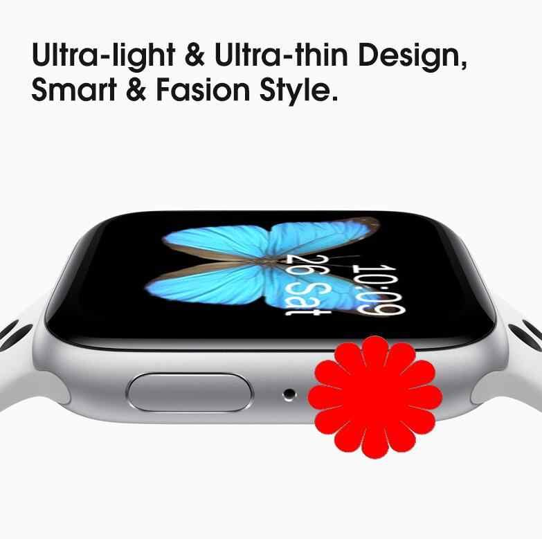 IWO 8 PLUS montre intelligente 44MM Bluetooth Smartwatch série 4 SIRI pour Samsung Xiaomi Huawei ios Apple iphone 5 6 7 8 X XS MAX XR