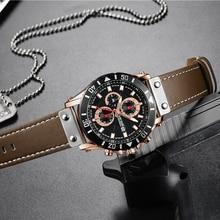 Chronograph Quartz Watches for Men Top Brand Luxury MEGIR Blue Men Sport Watch Clock Relogio Masculino Montre Homme Hour Time стоимость
