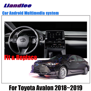 Image 2 - Car Android Multimedia Player For Toyota Avalon XX50 2018 2019 2020 Stereo radio Original Screen video GPS Map Navigation System