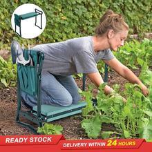 Garden-Knee-Pads Foldable with Double-Pocket EVA Handle Dual-Purpose Hot-Sale