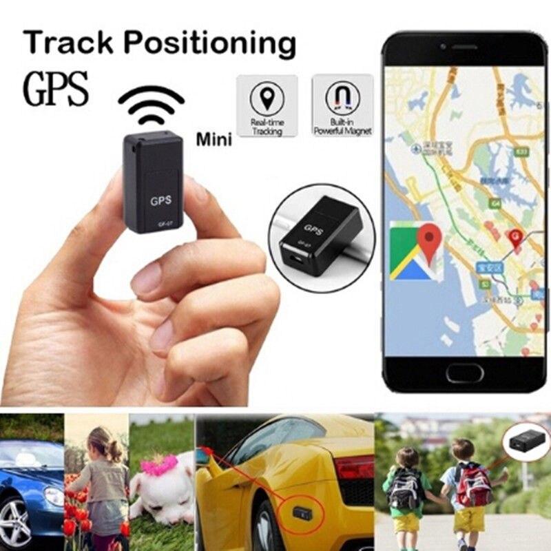 1pcs Mini GPS Tracker Car GPS Locator Tracker Car Gps Tracker Anti-Lost Recording Tracking Device Voice Control Can Record#