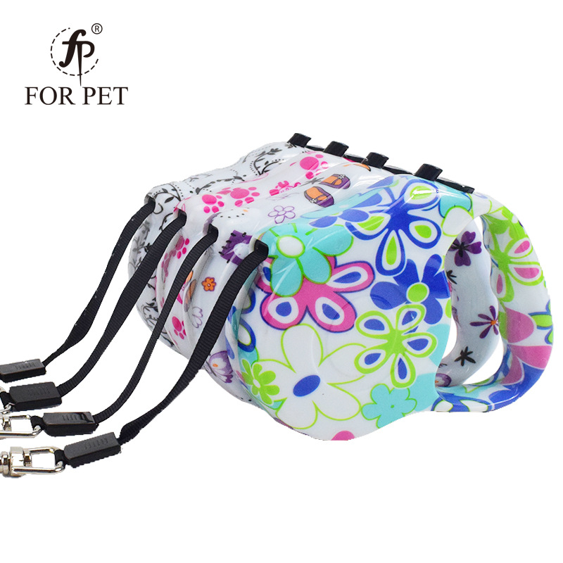 Pet Dog Supplies Retractable Color Portable Dog Hand Holding Rope Dog Automatic Hand Holding Rope