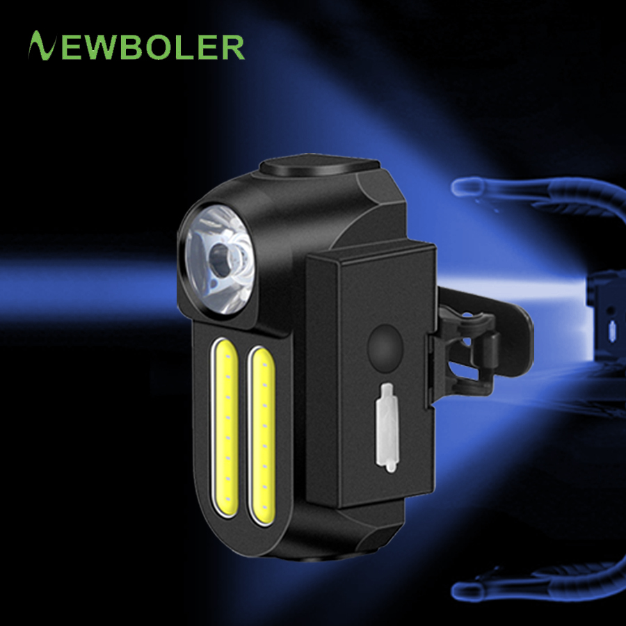 NEWBOLER 3 LED Bicycle Light Set With Taillight USB Charging Bike Light Cycling Flashlight Handlebar Lamp Bike Front Light Mount