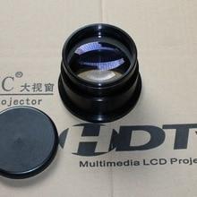 DIY Projector Projection Lens Focal Length F220 All Aluminum Lens