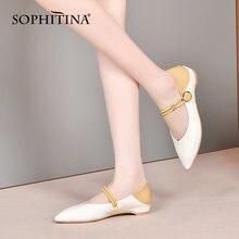 Sophitina/туфли лодочки; Женские элегантные модные новые кожаные
