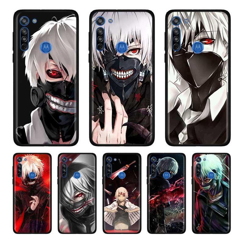 Anime Tokyo Ghouls Soft Case For Motorola Edge Plus Moto G Stylus G8 G Power G8 Plus Play One Hyper E6s Case Shell
