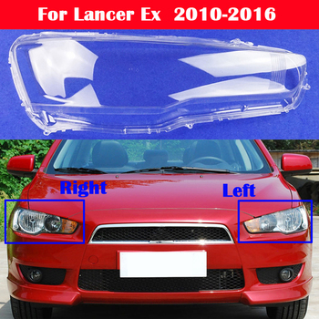 All New Car headlight shell cover Front headlamps transparent lampshades lamp shell For Mitsubishi Lancer Ex 2010-2016 msc90cas compressor for car mitsubishi lancer