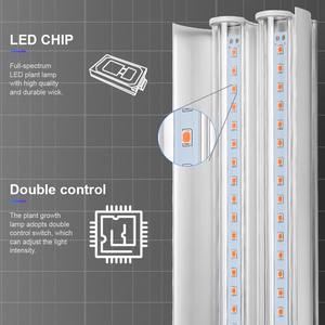 Image 2 - Lampe horticole horticole de culture intérieure, 100/LED W, spectre complet, éclairage pour culture intérieure, plantes, graines/floraison