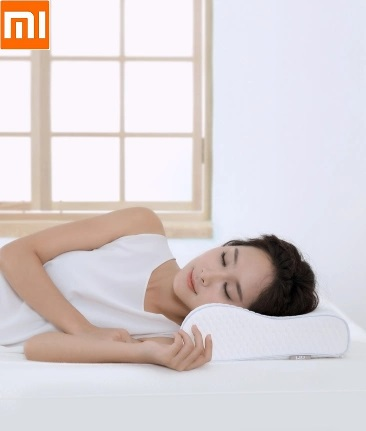 Xiaomi  8H Three Curve Neck Memory Foam Pillow Adult Neck Care Pillows Slow Rebound Space Memory Pillows Comfortable Breathable