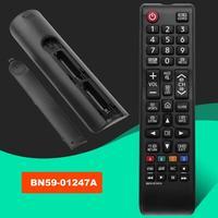 Mando a distancia BN59-01247A TV, mando a distancia Compatible con versión en inglés, con respuesta rápida de plástico, para Samsung TV