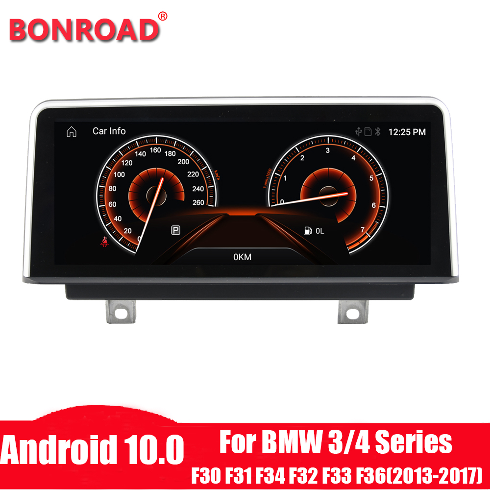 Bonroad car Radio for BMW F30/F31/F34/F20/F21/F32/F33/F36 original NBT system Android 10.0 autoradio gps navigation multimedia(China)