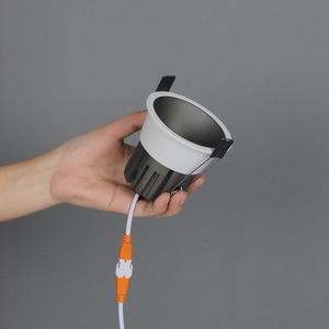 Image 3 - Aisilan светодиодный светильник фоновый Точечный светильник высокого качества алюминиевый точечный потолочный светильник кри чип