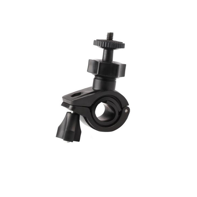 Bicycle bike clamp mount holder clip for osmo mobile 3 2/zhiyun smooth q 4 insta360 one x gopro hero 5 4 action camera