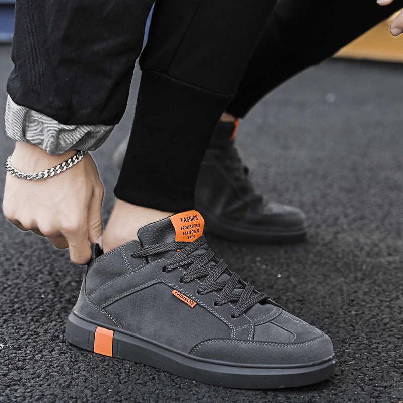 Winter Schuhe Männer Trainer Mode Trend Im Freien Leicht Tragen Koreanische Platte Schuhe Männer Turnschuhe Heren Schoenen Chaussure Homme