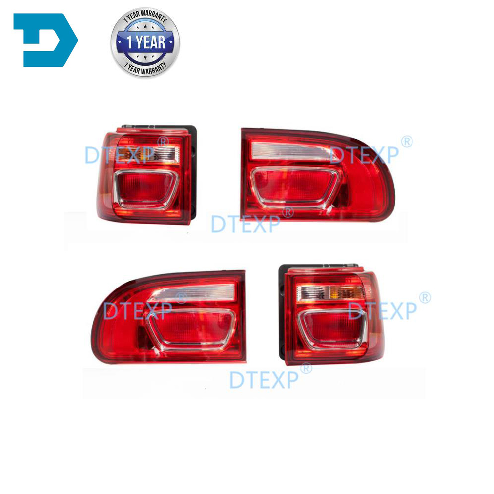 Full Set Tail Light For DELICA L400 Warning Lamp For M5 4 Pieces Tail Lamp FULL SET WITH BULBS Rear Lights  Warning Lights