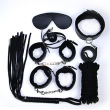 Sex 7-piece Suit Thickening Plush Leather Adult Toys Sexual Furniture Bundle Binding Alternative Adult Sex Products
