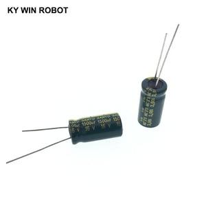 Image 3 - 10 قطعة مكثفات كهربائية 1500 فائق التوهج 16V 10x20 مللي متر 105C شعاعي عالية التردد مقاومة منخفضة مُكثَّف كهربائيًا