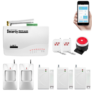 Image 5 - Wireless GSM Burglar Alarm System  Garage Detector Motion Sensor Detector Russia English Voice Security Protection Auto Dial DIY