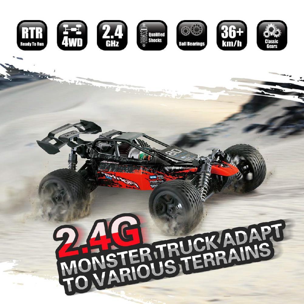 Детская игрушка для мальчиков G171 1:16, скоростной автомобиль с дистанционным управлением, 2,4G, четырехколесный привод, игрушечный автомобиль ...