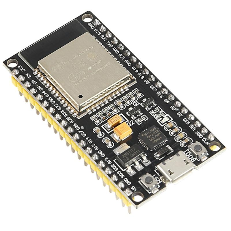 Новый ESP-32S ESP-WROOM-32 ESP32 ESP-32 Bluetooth и WI-FI двухъядерный Процессор низкая Мощность потребление MCU ESP-32 модуль макетная плата