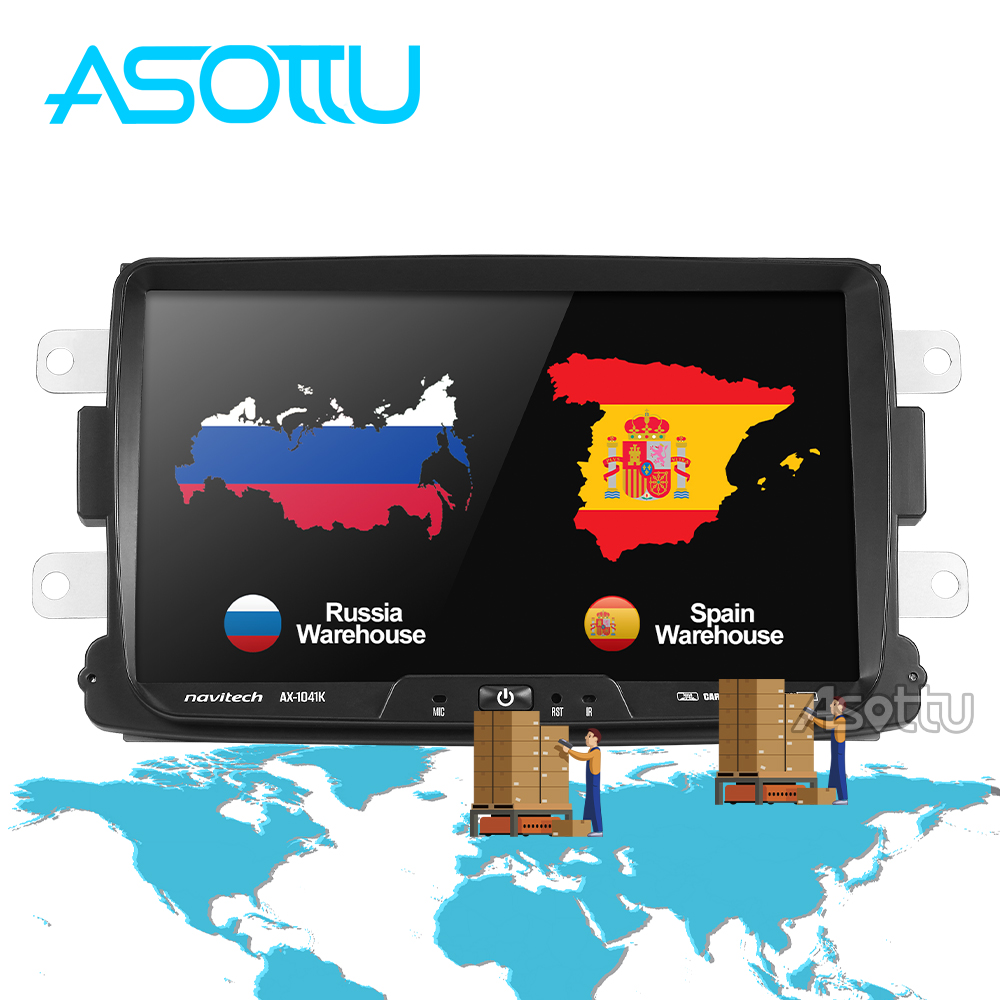 Asottu CDXY8071 2G+32G android car dvd for Renault Duster Dacia Sandero Captur Lada Xray 2 Logan 2 gps navigation car gps player-in Car Multimedia Player from Automobiles & Motorcycles    1