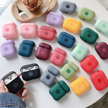 Cute Solid Color Earphone Case For AirPods Pro 2 1 Cases Hard PC Luxury Matte Texture Protective Cover for AirPod 2 3 Air Pods cheap Earphone Cases Cute Colorful case For Apple AirPods Pro Cover wireless charging box case for Airpods pro 3 Plastic Dropshipping Wholesale