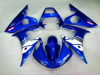 Wotefusi Injection Molding Bodywork Fairing Set For Yamaha YZF 600 R6 2003 2004 (YC)