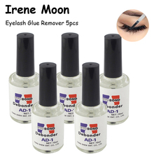 5PCS 10ml False Eyelash Glue Remover Liquid Debond Eyelash Extension Glue Remover Makeup Tools For Eyelashes Glue