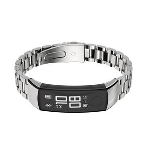 Image 3 - Watch Strap Honor band 3 Bracelet for Huawei Honor 3 Band Watch Band Wristband Stainless Steel Bracelet for Huawei 3 Honor Band