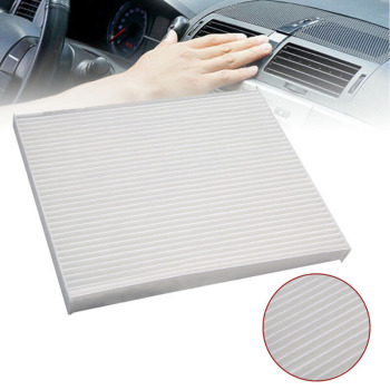 For Elantra Accent Kia Forte Cabin Air Filter Cabin Air Filter Useful New For Hyundai Elantra Accent Kia Forte White New image