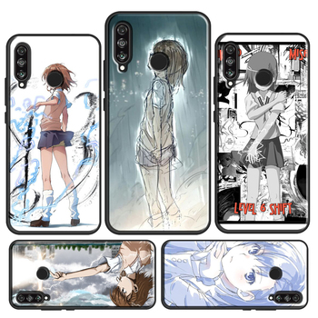 Cute Misaka Mikoto Case For Huawei P30 Lite P20 P40 Mate 20 Pro P Smart Z 2019 Nova 5T Honor 8X 9X 8A 10i image