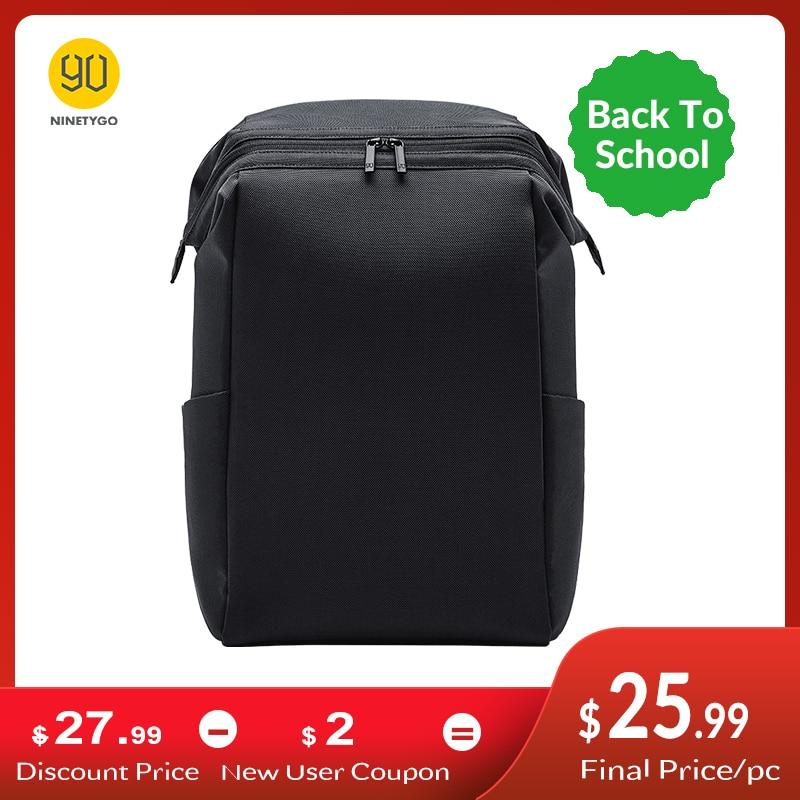 Backpack Laptop-Bag Ninetygo 90fun Travel Anti-Theft-Zippers School Women MULTITASKER