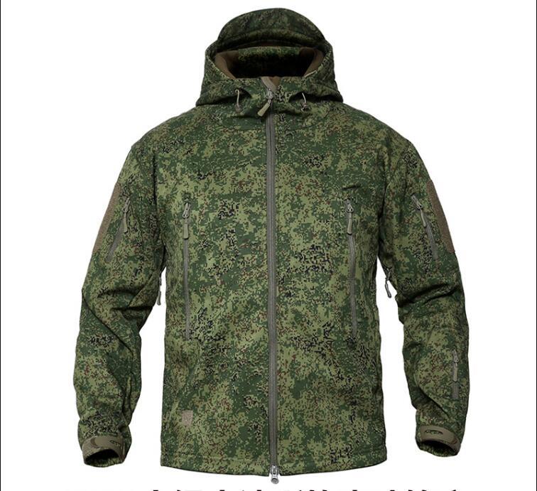 Russian Military Uniform Winter Camouflage Jacket Woodland Digital