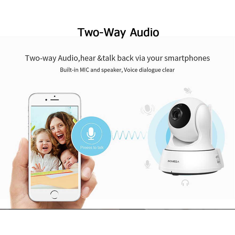 INQMEGA 1080P المنزل الأمن IP كاميرا واي فاي اللاسلكية البسيطة كاميرا شبكة مراقبة مراقبة واي فاي للرؤية الليلية كاميرا تلفزيونات الدوائر المغلقة مراقبة الطفل