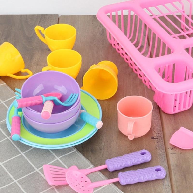 para crianças simulação pia pratos jogar casa aprendizagem brinquedos