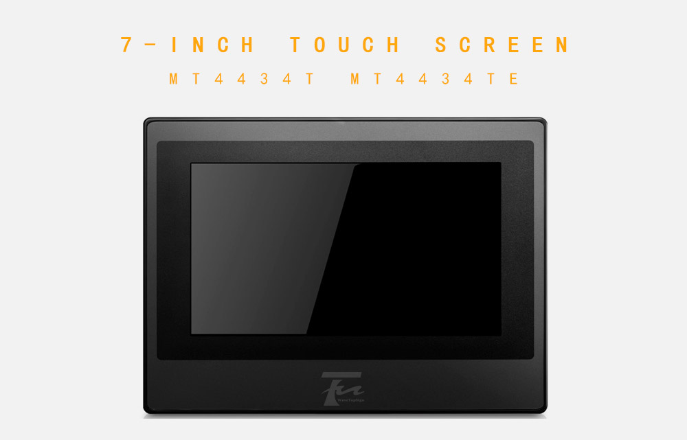 """New In Box 7/"""" HMI Touch Screen Panel MT4434TE USB Host Ethernet Cable Software"""