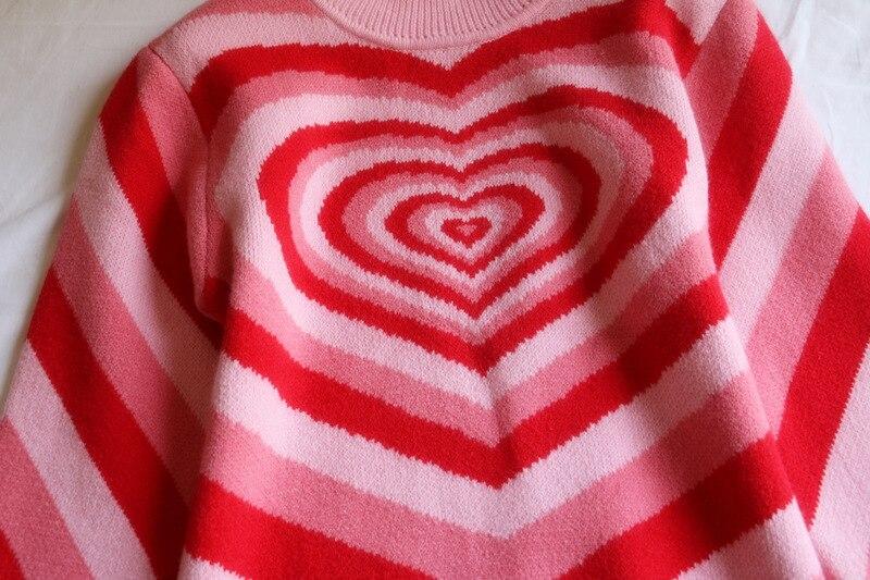 2019 หัวใจสีชมพูหวานครึ่งเสื้อคอเต่าแขนยาว ลดราคา Limo 10