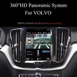 السيارات 360 درجة بانورامية العهد نظام الكاميرا ل S90 XC90 XC60 V90 فولفو OEM 10 بوصة الشاشة العمودية