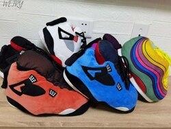 Tamanho grande 35-43 tênis snug mulher casa chinelos chinelos de inverno quente casa senhoras slides um tamanho sapatos