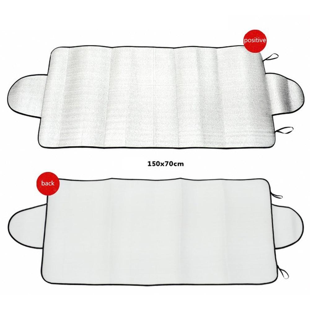 'SunShade покрытие автомобиля Снег Катание на коньках протектор козырек от солнца поворота Задняя крышка лобового стекла блок щиты